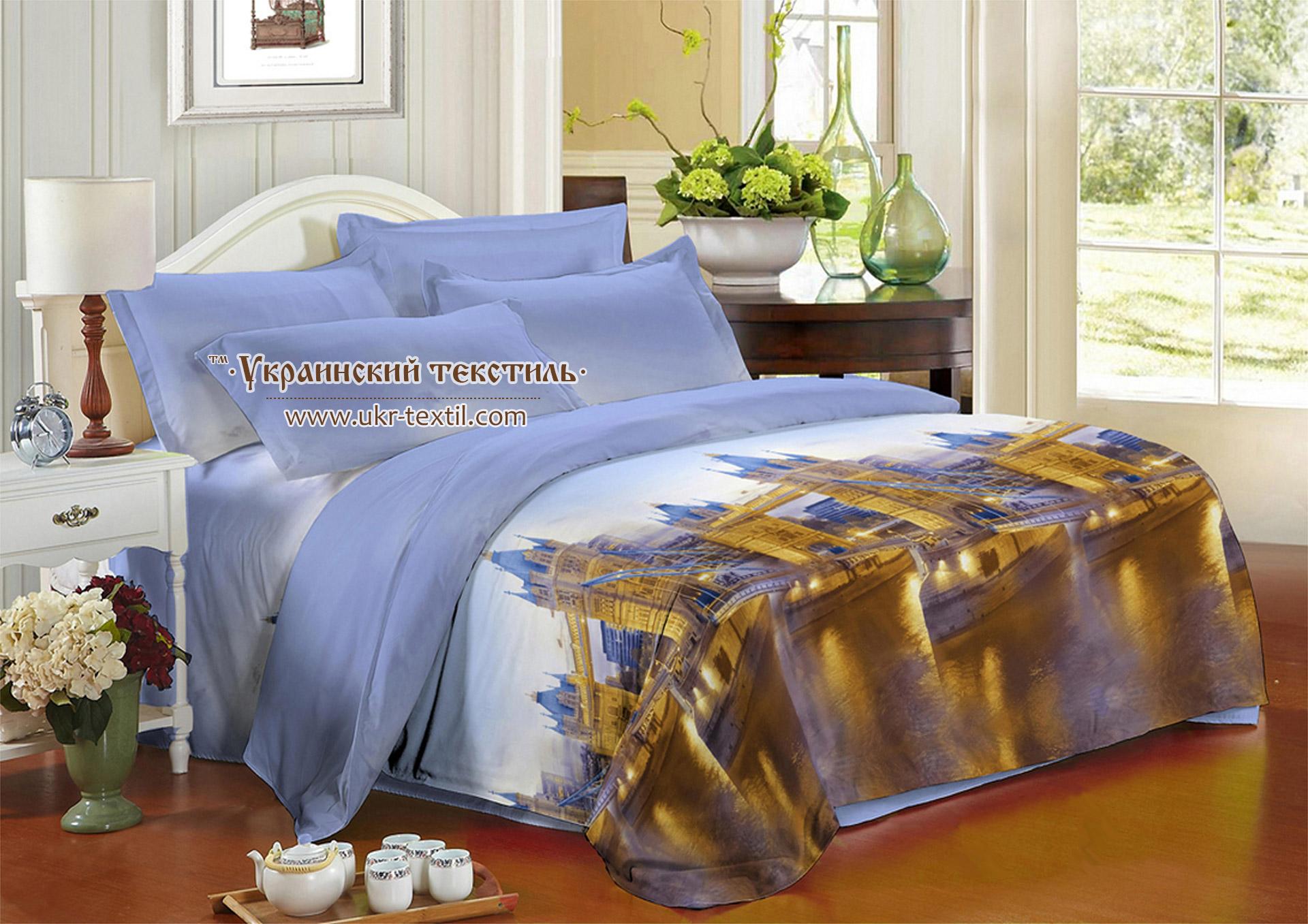 Полуторный комплект постельного белья из Полиэстера купить Украина ... 83d2165556326